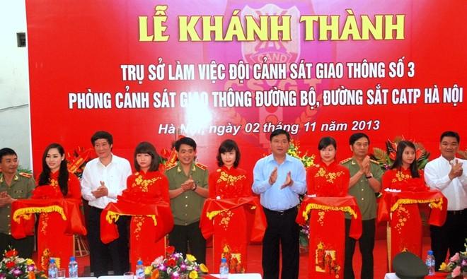 CATP Hà Nội khánh thành trụ sở Đội CSGT số 3 ảnh 3