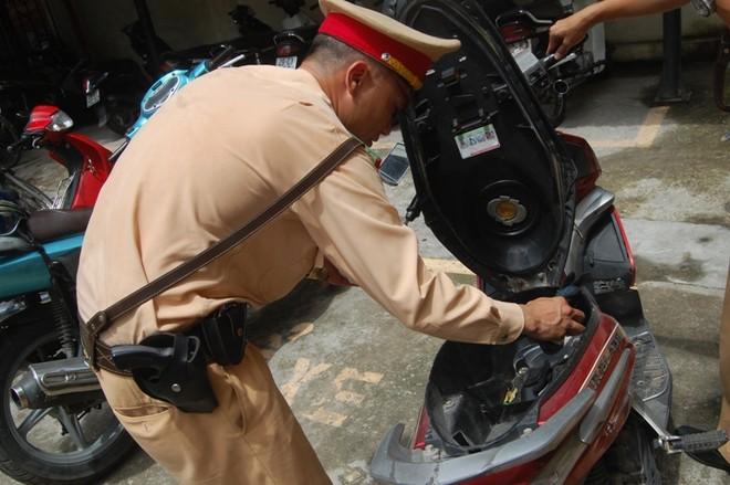 Xe Airblade đăng ký ở Hà Nội mang BKS giả tại Hưng Yên ảnh 2