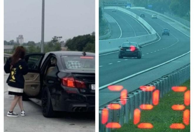 Vội đi ăn cưới, lái xe ô tô BMW chạy tốc độ 223 km/h trên cao tốc ảnh 1