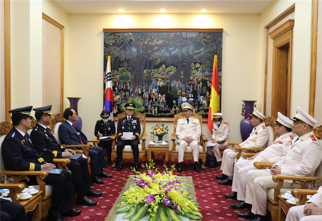 Việt Nam - Hàn Quốc đẩy mạnh hợp tác trên lĩnh vực đấu tranh phòng, chống tội phạm ảnh 1