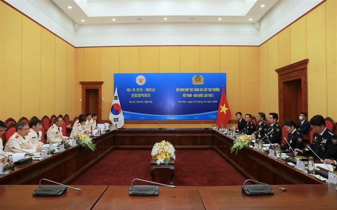 Việt Nam - Hàn Quốc đẩy mạnh hợp tác trên lĩnh vực đấu tranh phòng, chống tội phạm ảnh 3