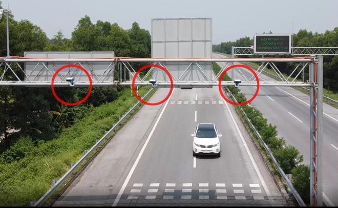 """""""Mắt thần"""" trên cao tốc Hà Nội - Lào Cai phát hiện hàng nghìn xe chạy quá tốc độ ảnh 1"""