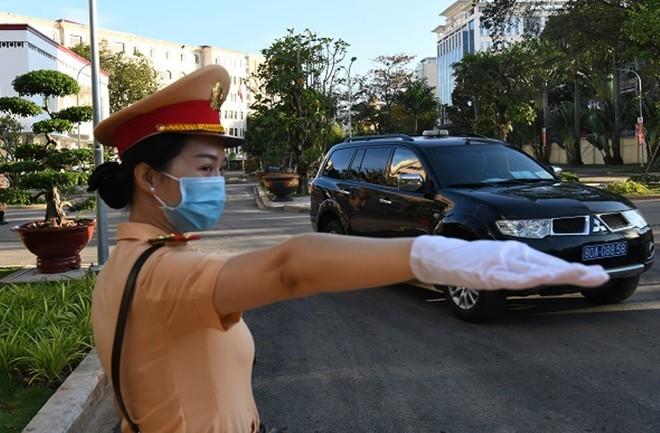 Bảo đảm tuyệt đối an toàn giao thông tại Hội nghị Công an toàn quốc lần thứ 76 ảnh 1
