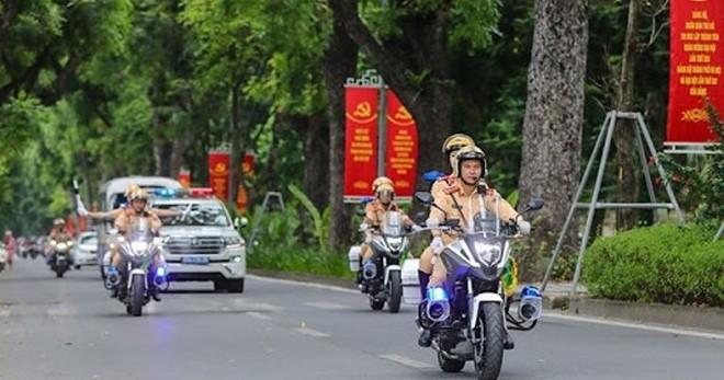 Chủ tịch Quốc hội gửi Thư khen Phòng Cảnh sát giao thông CATP Hà Nội ảnh 2
