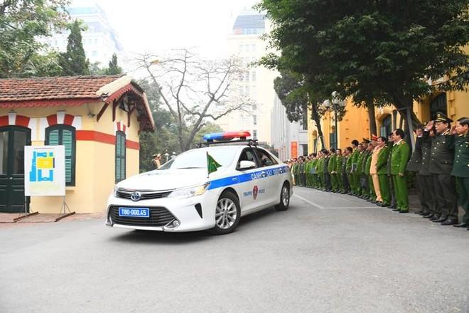 Cảnh sát giao thông Thủ đô tổng duyệt phương án đón, dẫn, đảm bảo an toàn giao thông phục vụ Đại hội Đảng ảnh 11