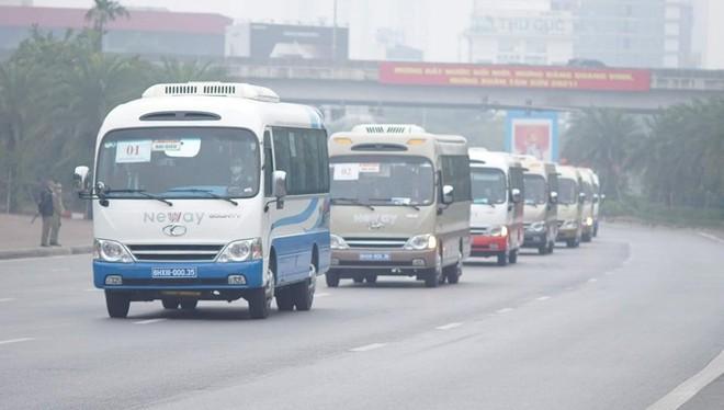 Cảnh sát giao thông Thủ đô tổng duyệt phương án đón, dẫn, đảm bảo an toàn giao thông phục vụ Đại hội Đảng ảnh 3