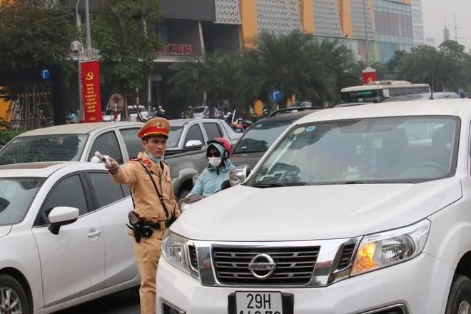 Cảnh sát giao thông Thủ đô tổng duyệt phương án đón, dẫn, đảm bảo an toàn giao thông phục vụ Đại hội Đảng ảnh 8
