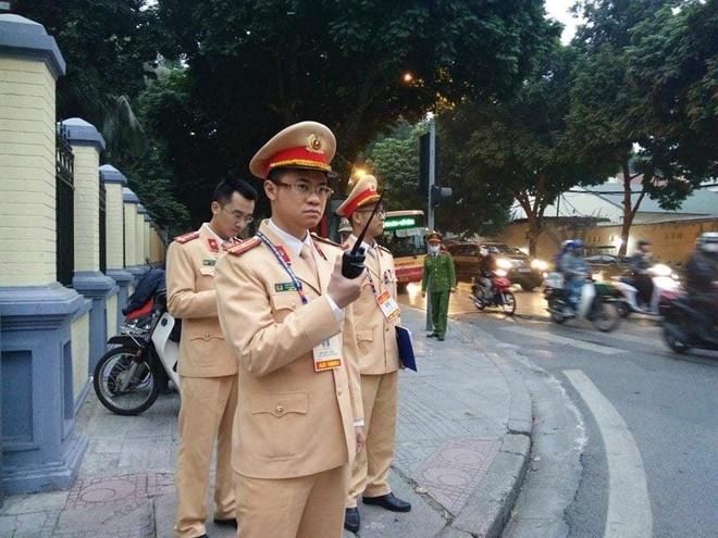 Cảnh sát giao thông Thủ đô tổng duyệt phương án đón, dẫn, đảm bảo an toàn giao thông phục vụ Đại hội Đảng ảnh 5