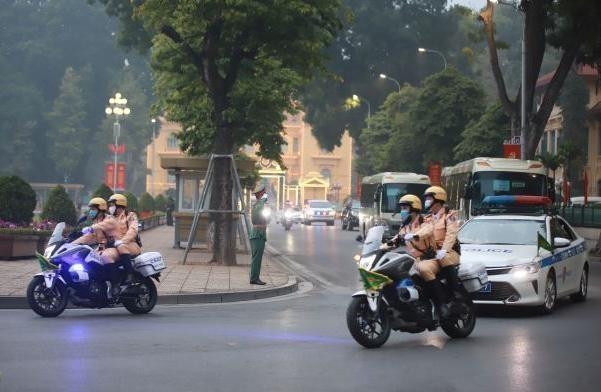 Công an Hà Nội: Quyết tâm đảm bảo tuyệt đối an toàn công tác đón, dẫn đoàn dự Đại hội Đảng lần thứ XIII ảnh 4