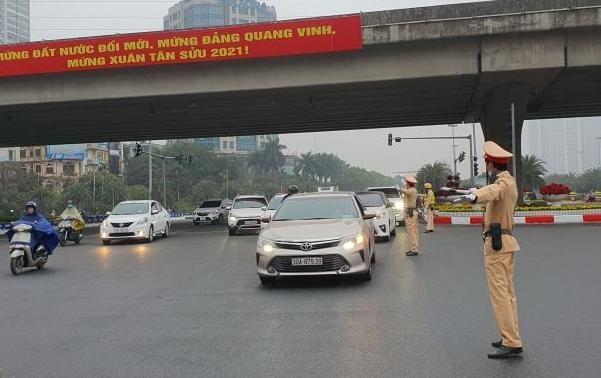 Công an Hà Nội: Quyết tâm đảm bảo tuyệt đối an toàn công tác đón, dẫn đoàn dự Đại hội Đảng lần thứ XIII ảnh 5