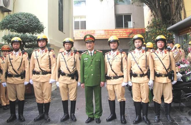 Nâng tầm chuyên nghiệp, hiện đại của lực lượng CSGT Thủ đô ảnh 3