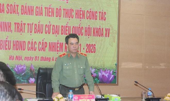 Công an Hà Nội: Quyết tâm đảm bảo tuyệt đối an toàn công tác bầu cử Quốc hội, HĐND các cấp ảnh 1
