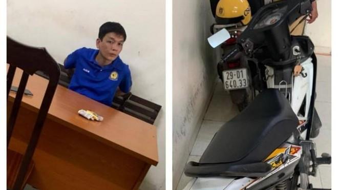 Cảnh sát giao thông và người dân truy bắt cướp giật trên phố cổ ảnh 1