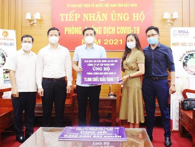 Chung tay hỗ trợ tỉnh Bắc Ninh phòng, chống dịch Covid-19 ảnh 2