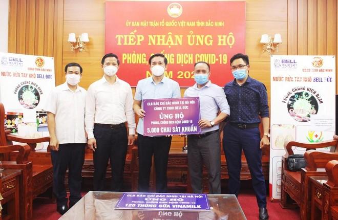 Chung tay hỗ trợ tỉnh Bắc Ninh phòng, chống dịch Covid-19 ảnh 1