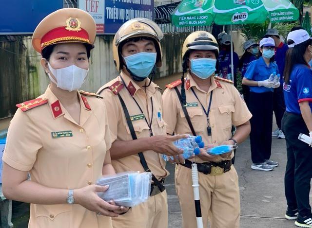 Công an Hà Nội bảo vệ tuyệt đối an toàn kỳ thi tuyển sinh lớp 10 THPT ảnh 2