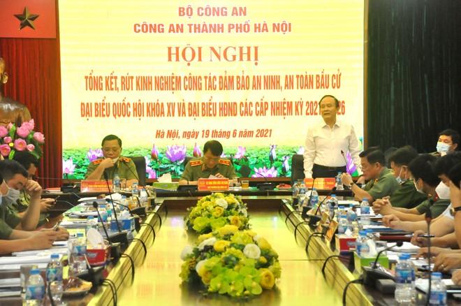 Công an Hà Nội có vai trò hết sức to lớn góp phần làm nên thành công bầu cử Đại biểu Quốc hội và HĐND các cấp ảnh 2