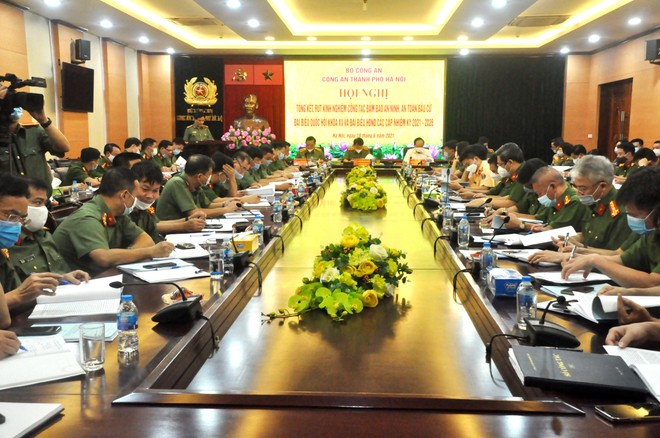 Công an Hà Nội có vai trò hết sức to lớn góp phần làm nên thành công bầu cử Đại biểu Quốc hội và HĐND các cấp ảnh 4