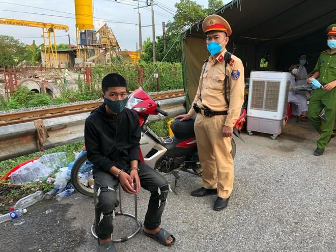 Đi xe máy trộm cắp ở Thanh Hóa ra Hà Nội thì bị bắt ảnh 1