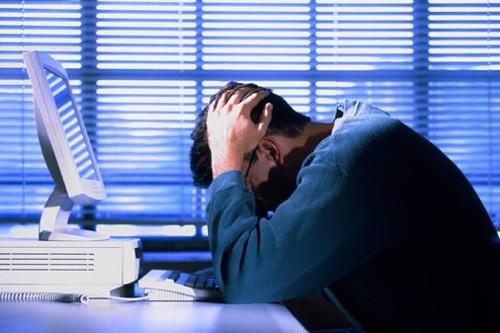 Quá căng thẳng trong công việc có thể dẫn tới đột quỵ