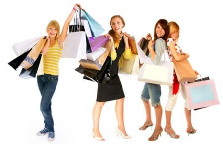 Shopping – một cách tập luyện nhàn nhã ảnh 1