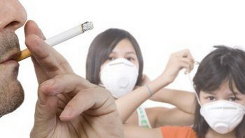 Hút thuốc thụ động làm tăng gấp 2 lần nguy cơ COPD