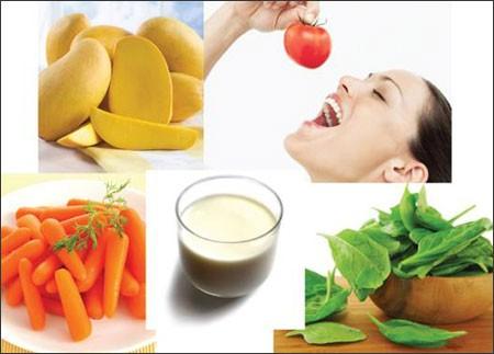 Thực phẩm giàu vitamin A ảnh 1