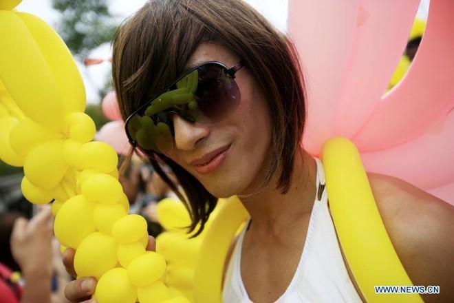 Diễu hành đồng giới lớn nhất tại Đài Loan ảnh 1
