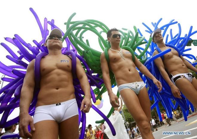 Diễu hành đồng giới lớn nhất tại Đài Loan ảnh 2