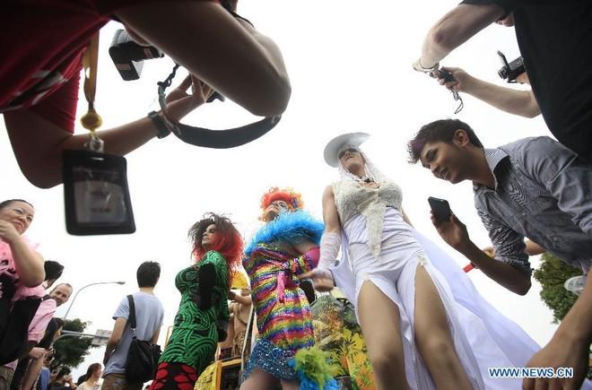 Diễu hành đồng giới lớn nhất tại Đài Loan ảnh 6