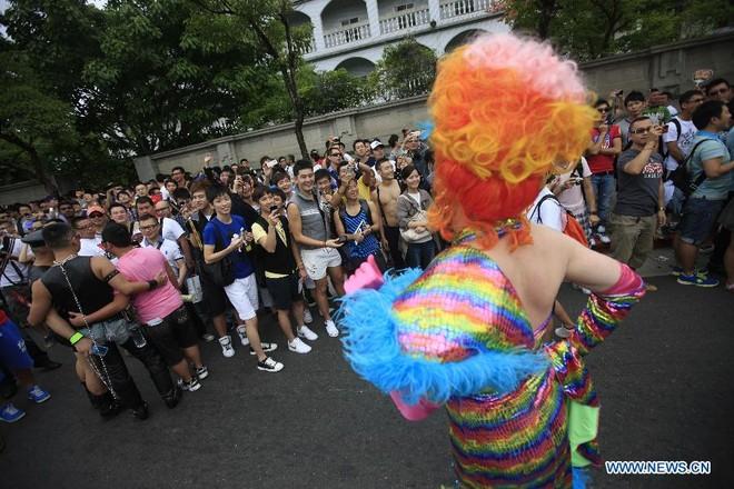 Diễu hành đồng giới lớn nhất tại Đài Loan ảnh 5