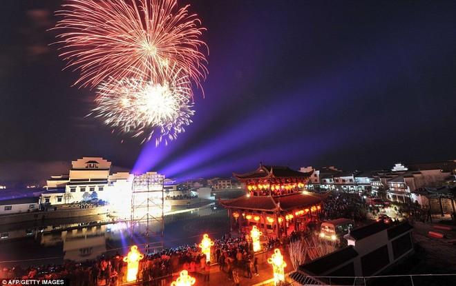 Choáng ngợp với lễ hội đèn lồng tại Trung Quốc ảnh 6