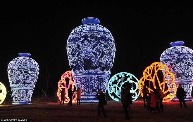 Choáng ngợp với lễ hội đèn lồng tại Trung Quốc ảnh 3
