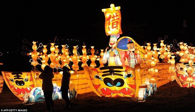 Choáng ngợp với lễ hội đèn lồng tại Trung Quốc ảnh 4
