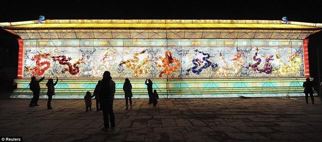 Choáng ngợp với lễ hội đèn lồng tại Trung Quốc ảnh 5