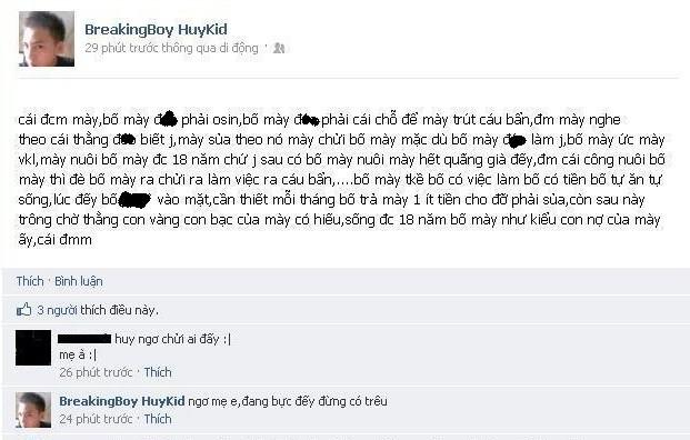 Kinh hoàng những lời vô học trên Facebook ảnh 2