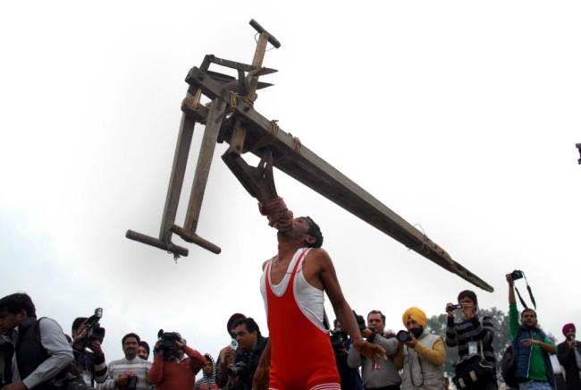 Kỳ dị thế vận hội ở nông thôn Ấn Độ ảnh 9