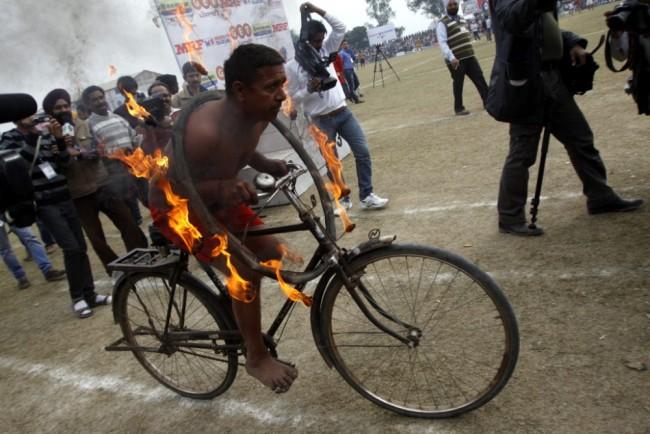 Kỳ dị thế vận hội ở nông thôn Ấn Độ ảnh 11