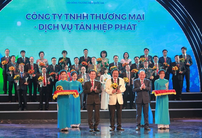 Lễ Công bố sản phẩm đạt Thương hiệu quốc gia Việt Nam năm 2020 ảnh 1