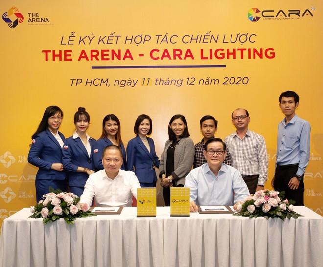 """Chủ đầu tư The Arena bắt tay cùng """"phù thủy ánh sáng"""" của Cara Lighting ảnh 1"""