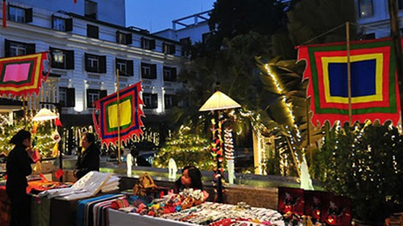 Tái hiện chợ quê trong không gian khách sạn ảnh 1