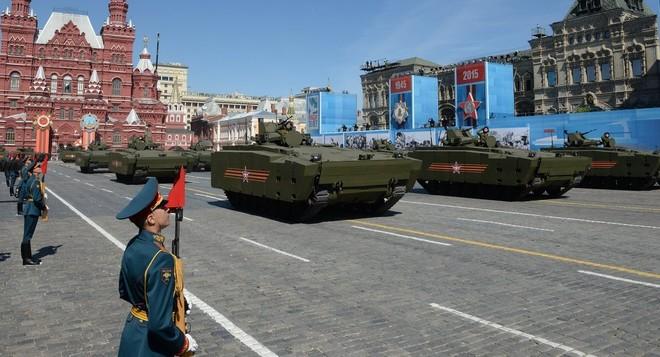 Lễ duyệt binh hùng tráng tại Quảng trường Đỏ - Moscow ảnh 34