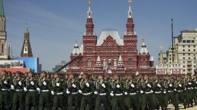 Lễ duyệt binh hùng tráng tại Quảng trường Đỏ - Moscow ảnh 16