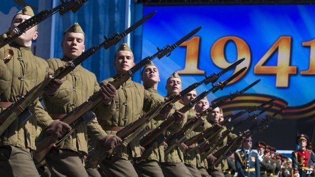Lễ duyệt binh hùng tráng tại Quảng trường Đỏ - Moscow ảnh 17