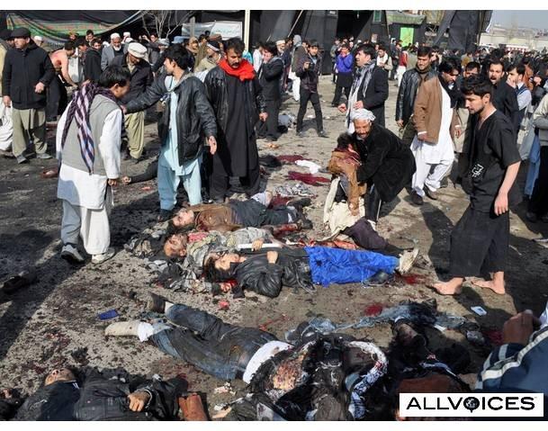 Đánh bom tại đám tang - 20 người thiệt mạng ảnh 1