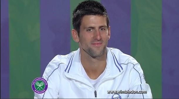 """Federer nhận những lời """"có cánh"""" từ Djokovic trước thềm chung kết Wimbledon 2014 ảnh 1"""