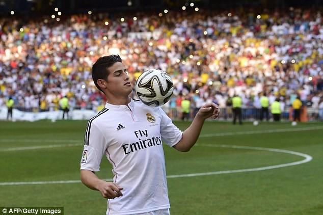 "James Rodriguez ""rủ rê"" Falcao gia nhập Real Madrid ảnh 5"