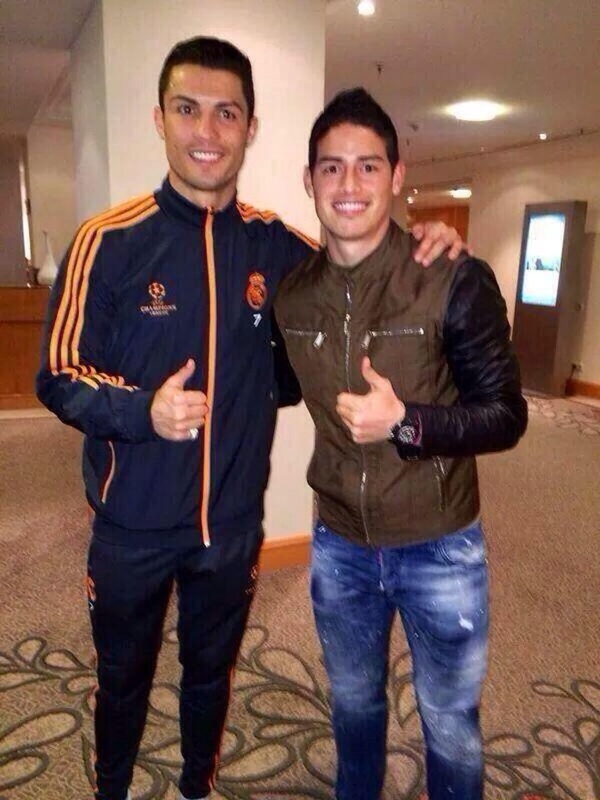 "James Rodriguez ""rủ rê"" Falcao gia nhập Real Madrid ảnh 4"