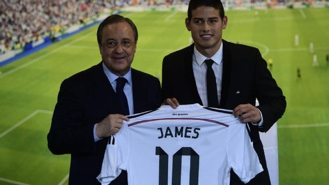 "James Rodriguez ""rủ rê"" Falcao gia nhập Real Madrid ảnh 1"