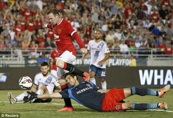 Đè bẹp LA Galaxy 7-0, Van Gaal có chiến thắng đầu tay cùng M.U ảnh 1